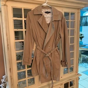 Belted Trench Pea coat